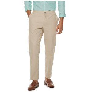 Marc Anthony slim fit linen blend pants